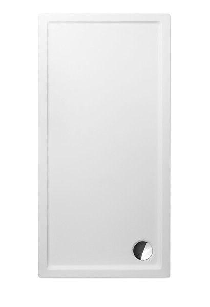ROLTECHNIK FLAT KVADRO 1500x750 téglalap alakú akril zuhanytálca, 150x75 cm