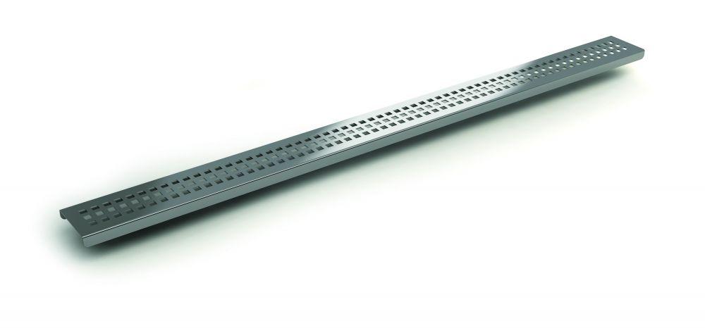 ROLTECHNIK RMF-1 Zuhanyfolyóka, rozsdamentes acél rács RMF-1/900, 900 mm / 90 cm