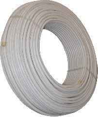 Sanica 20x2 mm-es ötrétegű alubetétes műanyag cső tekercsben, PEX-AL-PEX, 95° / 10 bar