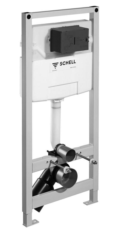 SCHELL Montus C 120 beépíthető WC tartály gipszkarton falhoz / komplett keretes wc tartály / 030560099
