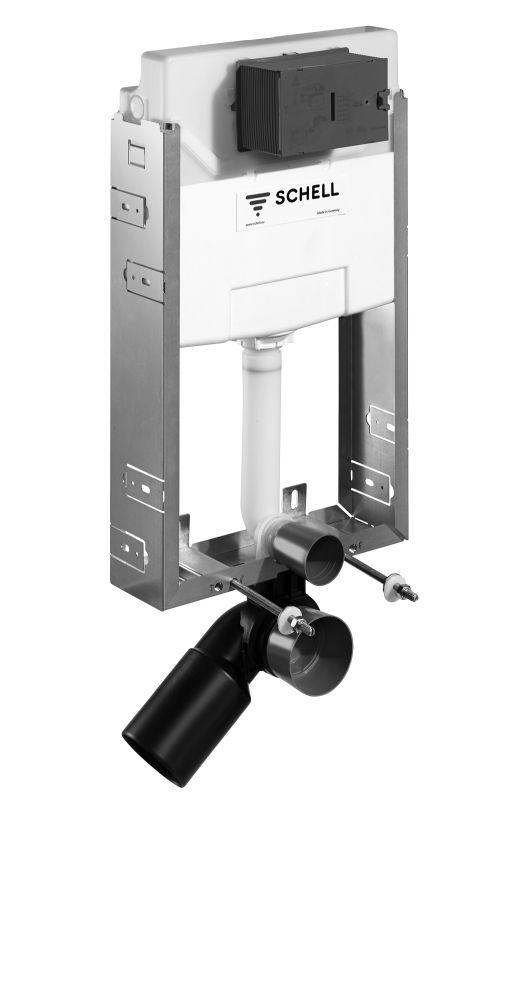 SCHELL Montus C-N 120 beépíthető WC tartály szett téglafalhoz / komplett befalazható wc tartály / 030580099