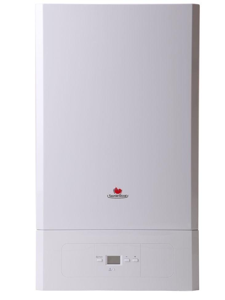 Saunier Duval Semiatek Condens 24 kW-os kombi kondenzációs gázkazán / fali kazán, 6,5-24,7 kW, 0010020408 ErP kész