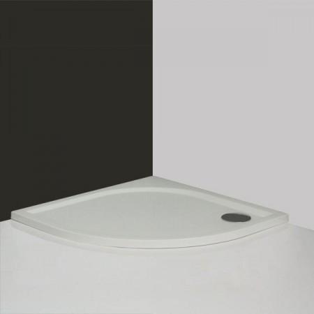Roltechnik DREAM-M ÍVES 900 zuhanytálca öntött márványból / 90x90x3 cm-es / cikkszám: 8000150 / SANIPRO LINE