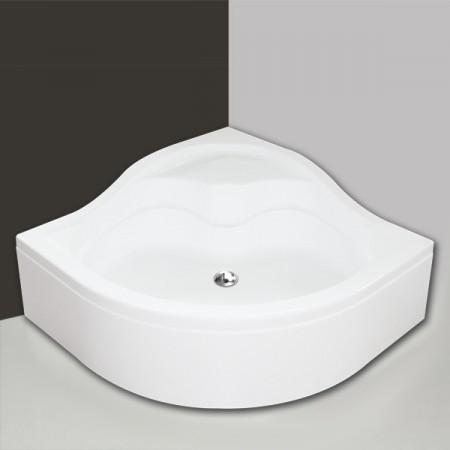 Roltechnik SEMIDEEP NEO/900 / 90x90 cm íves zuhanytálca / mélyített / cikkszám: 8000198 / Sanipro