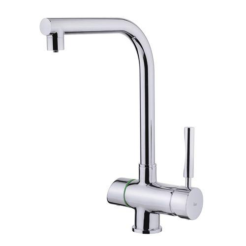 TEKA OS 207 mosogató csaptelep szűrő funkcióval, 2 különálló egymásba integrált kifolyócső (szűrt és nem szűrt vízhez), Króm 18.207.02.00 / 182070200