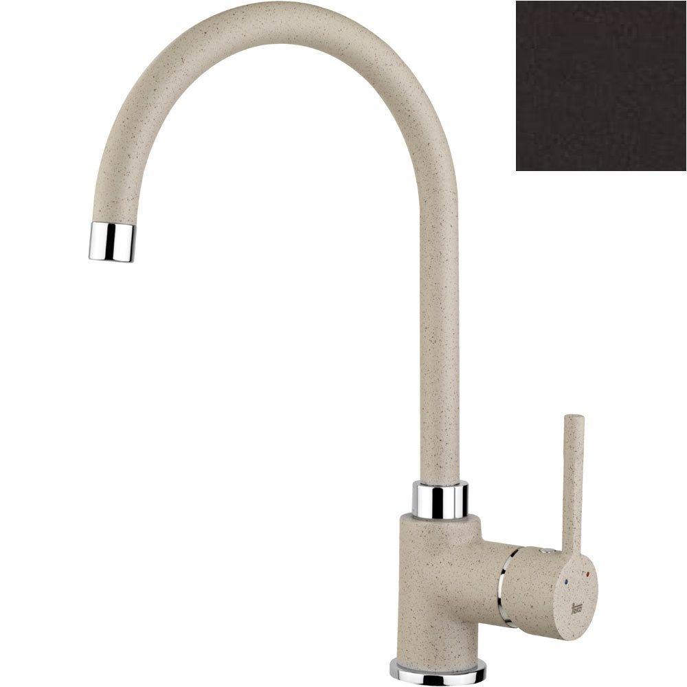 TEKA ALAIOR SP 995 álló mosogató csaptelep, forgatható kifolyócső, vízkőmentes perlátor, magas ellenállóképességű és ujjlenyomatmentes festett felület, Carbon (fekete) 55.99.502.0CN / 55995020CN