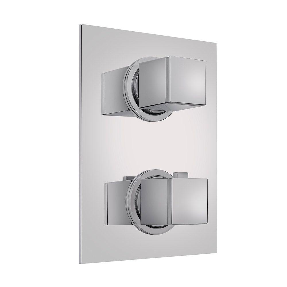 TEKA Süllyesztett termosztátos zuhany csaptelep 2 utas, biztonsági hőmérséklet STOP 38ºC-on 78.022.02.00 / 780220200