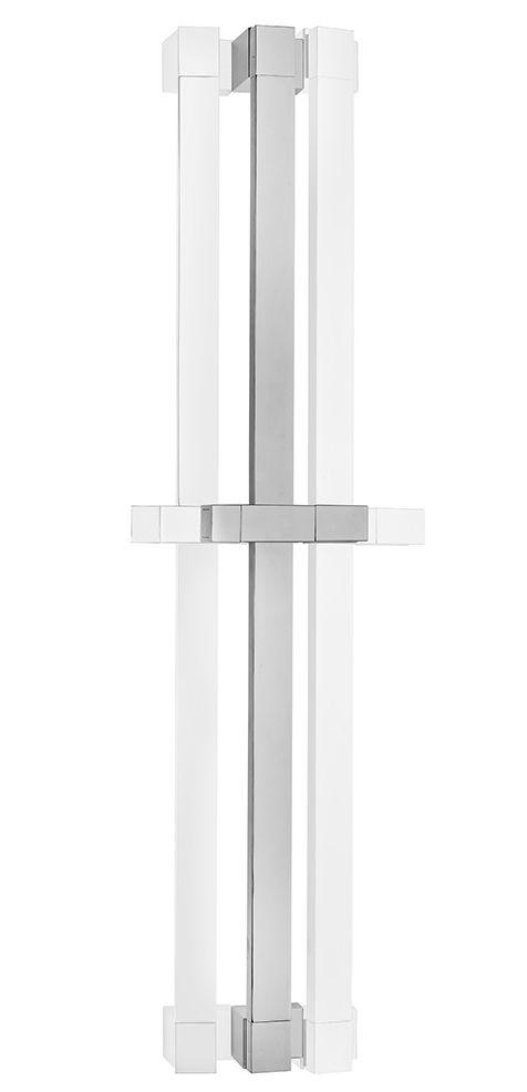 TEKA Formentera zuhanyrúd állítható zuhanytartóval, szögletes design, króm 79.001.63.00 / 790016300