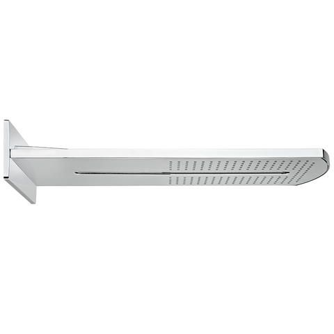 TEKA Spa fali zuhanyfej / oldalfali fejzuhany, falba épített rendszerekhez, 2 funkciós: vízesés, eső, méret: 591x235 mm, vízkőmentes, víztakarékos ECO funkciók 79.006.72.00 / 790067200