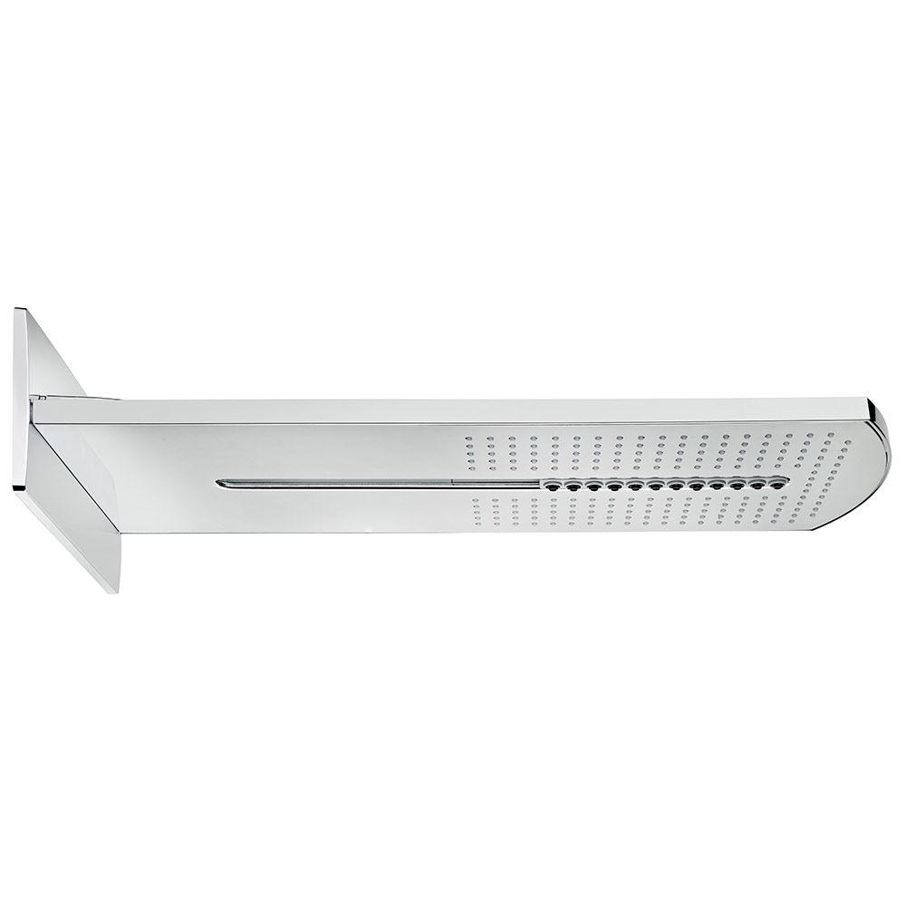TEKA Spa fali zuhanyfej / oldalfali fejzuhany, falba épített rendszerekhez, 2 funkciós: vízesés, eső, méret: 520x270 mm, vízkőmentes, víztakarékos ECO funkciók 79.006.73.00 / 790067300