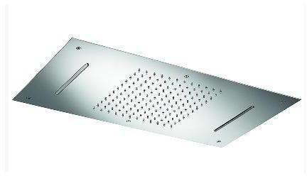 TEKA Spa beépíthető szögletes zuhanyfej / mennyezeti zuhany, rozsdamentes acél, vízkőmentes 79.006.74.00 / 790067400