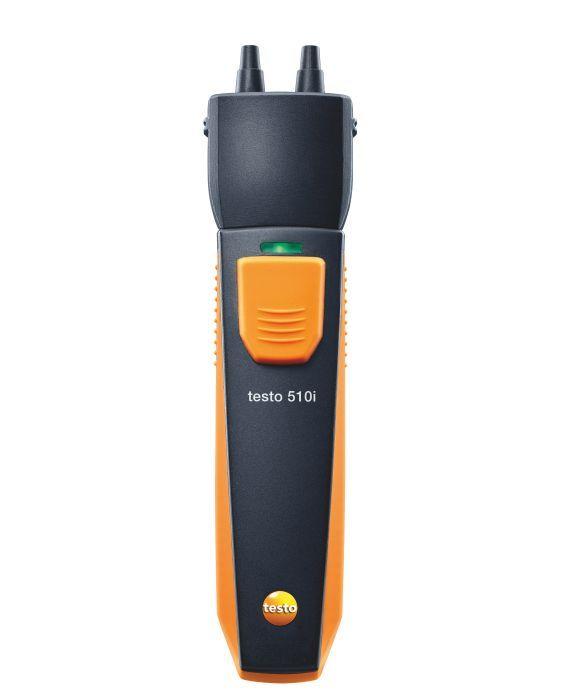 TESTO 510i Smart Probes differenciál nyomásmérő műszer, bluetooth funkcióval, Smart készülékekhez okostelefon / tablet, okosérzékelő 0560 1510