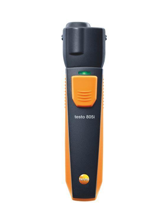 TESTO 805i Smart Probes infra hőmérsékletmérő / hőmérő  műszer, bluetooth funkcióval, Smart készülékekhez okostelefon / tablet, okosérzékelő 0560 1805
