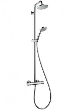 HansGrohe Croma 100 EcoSmart Showerpipe / DN15 / króm / 27159000 / 27159 000