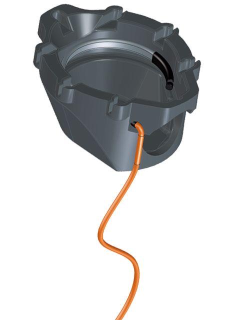 HL155 Hőszigetelés integrált fűtéskészlettel a HL5100T teraszlefolyó sorozathoz