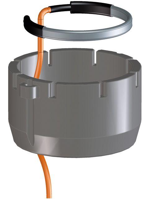 HL156 Hőszigetelés integrált fűtéskészlettel a HL3100T teraszlefolyó sorozathoz