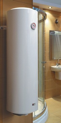 RADECO / KOSPEL OSV 50 Literes Slim, keskeny elektromos bojler (átmérő: 36cm),  2000W-os, 230V
