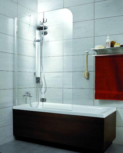 RADAWAY Torrenta PND B kádparaván 100x150 / 05 grafit üveg / Balos / 201202-105L