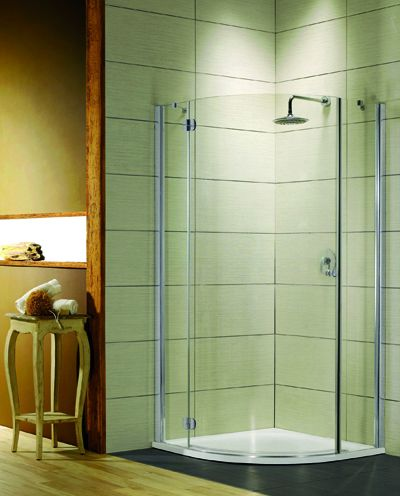RADAWAY Torrenta PDJ 80 B negyedköríves zuhanykabin 80x80x185 / Balos / 01 átlátszó üveg / 31710-01-01N