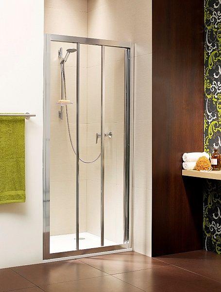 RADAWAY Treviso DW 120 zuhanyajtó 120x190 / 01 átlátszó üveg / 32333-01-01N