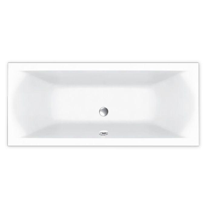 M-Acryl HELENA 150x70 egyenes akril kád + Comfort 6+4+2 vízmasszázs, pneumatikus vezérléssel