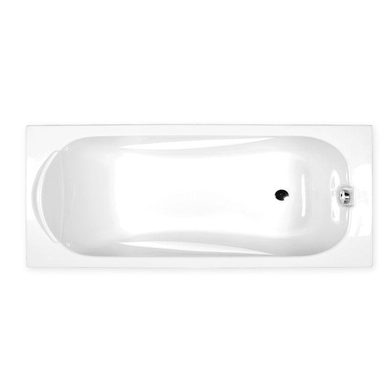 M-Acryl SORTIMENT 170x75 egyenes akril kád + Basic 4+4+2 vízmasszázs, pneumatikus vezérléssel