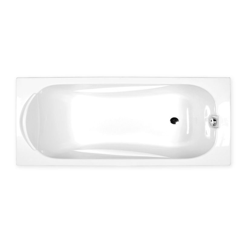 M-Acryl SORTIMENT 170x75 egyenes akril kád + Comfort 6+4+2 vízmasszázs, pneumatikus vezérléssel