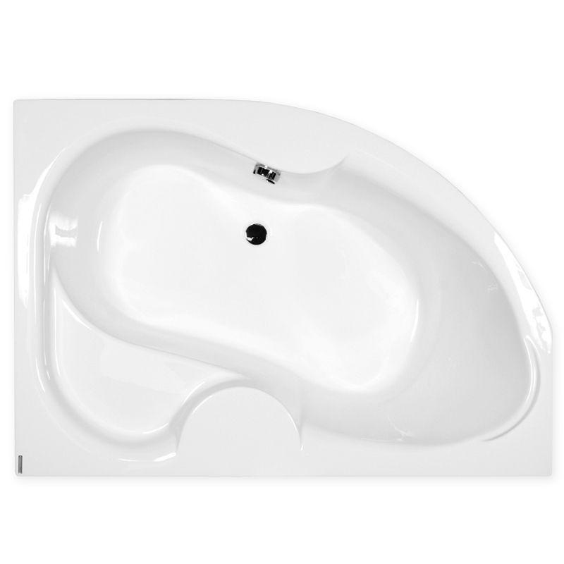 M-Acryl AZALIA 170x105 Balos aszimmetrikus akril kád + Comfort 6+4+2 vízmasszázs, pneumatikus vezérléssel