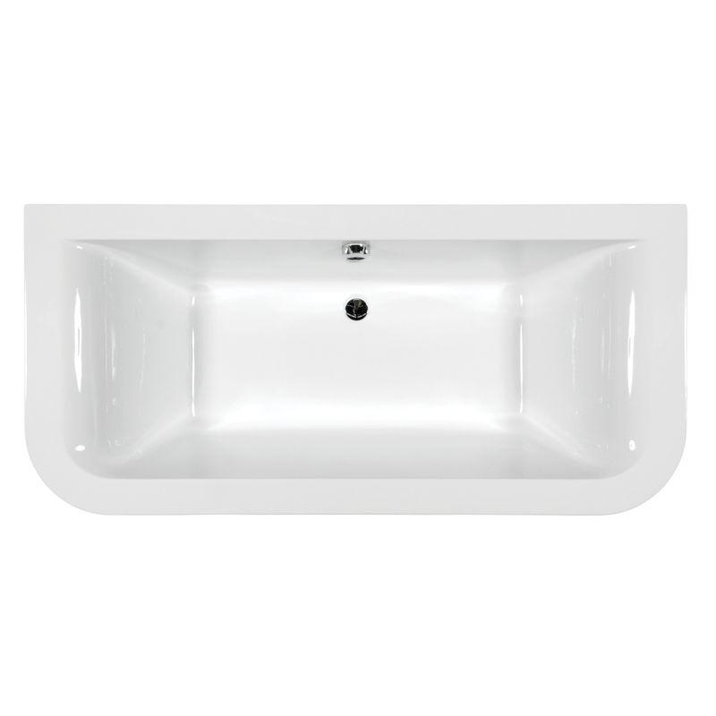 M-Acryl PRINCESS 180x85 akril kád  + Activ 4+4+4 vízmasszázs, pneumatikus vezérléssel