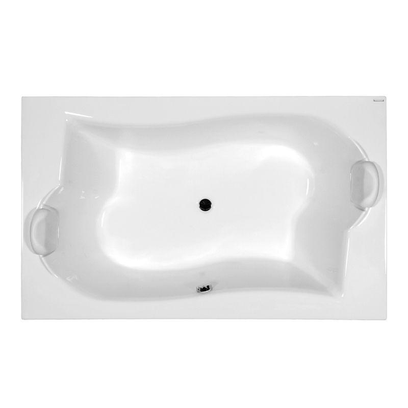 M-Acryl ROYAL 180x110 akril kád  + Comfort 6+4+2 vízmasszázs, pneumatikus vezérléssel