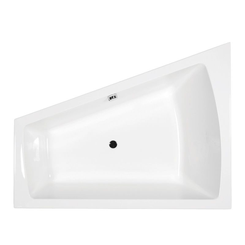 M-Acryl TRINITY 170x130 akril kád  + Comfort 6+4+2 vízmasszázs, pneumatikus vezérléssel