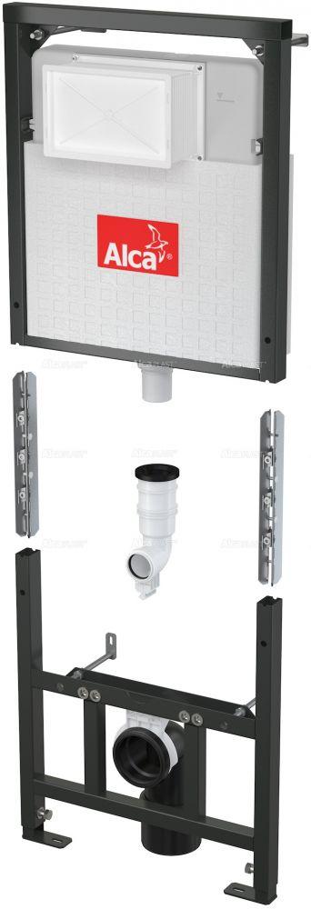 AlcaPLAST  A101/1200D - falba építhető / beépíthető / falsík alatti / befalazható WC tartály
