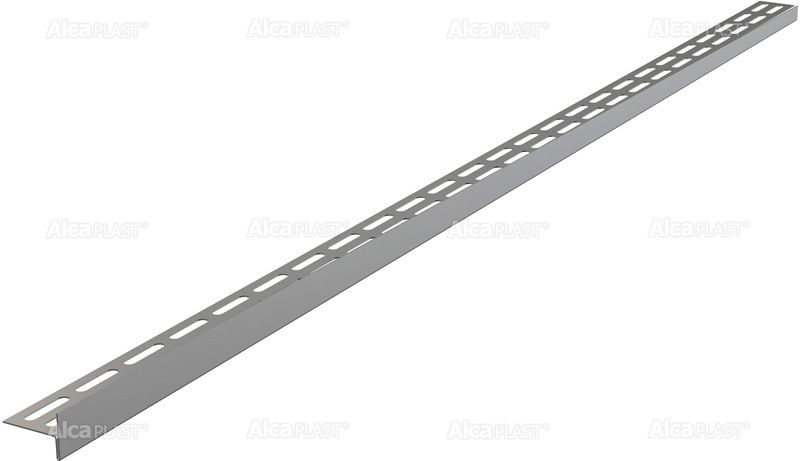 AlcaPLAST  APZ901M/1000 Rozsdamentes lejtésbeállító léc, lejtős padlóhoz, Balos