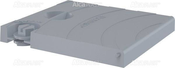 AlcaPLAST  AGV920S Fedő komplett – szürke, kültéri