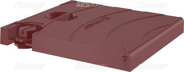 AlcaPLAST  AGV920R Fedő komplett – piros, kültéri