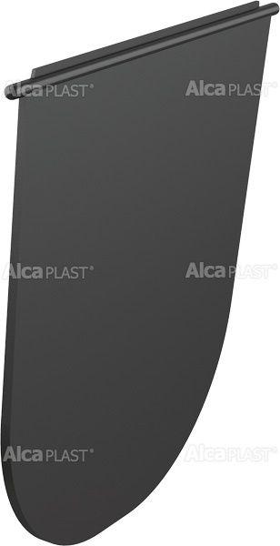AlcaPLAST  AGV930 Billenő zár – fekete, kültéri