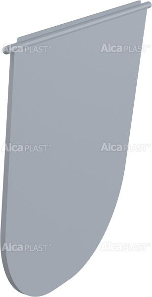 AlcaPLAST  AGV930S Billenő zár – szürke, kültéri