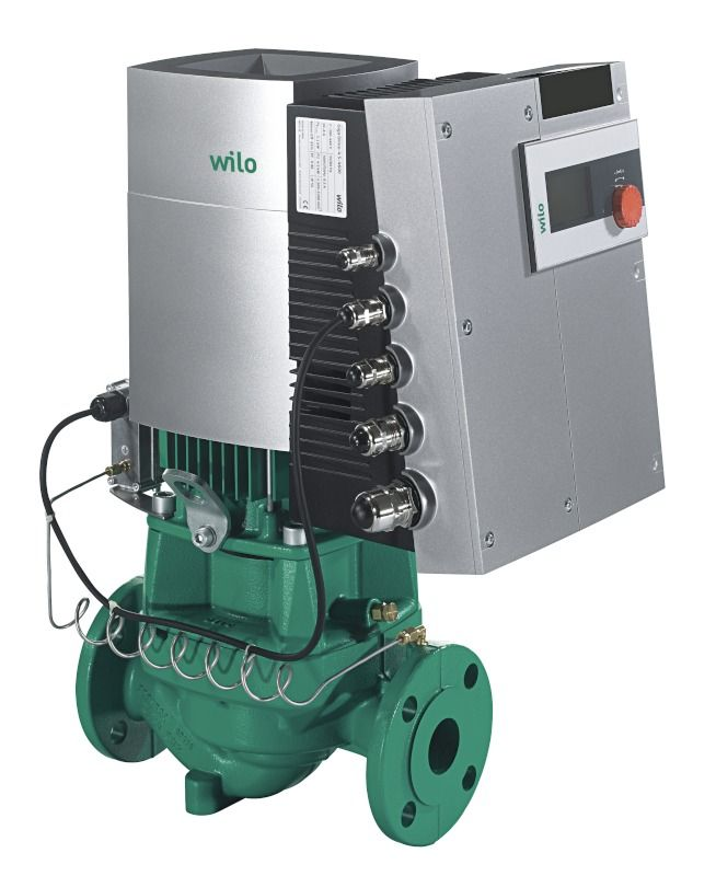 WILO Stratos GIGA 65/1-38/3,8-R1 Nagyhatásfokú inline szivattyú EC-motorral / 2117172