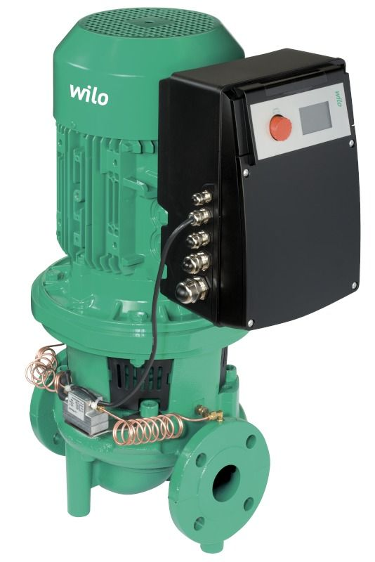 WILO CronoLine IL-E 50/160-5,5/2 Elektronikusan szabályzott száraztengelyű egyes-szivattyú inline kivitelben / 2082996