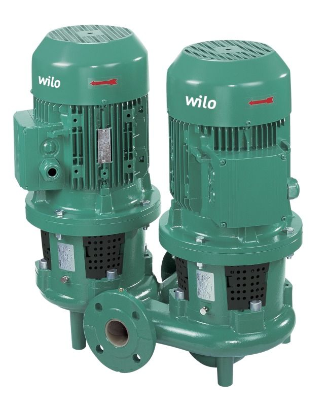 WILO CronoTwin DL 65/120-0,55/4 Száraztengelyű szivattyú in-line kivitelben / 2139468