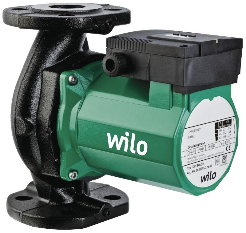 WILO TOP-STG 25/13 EM PN6/10 Menetes vagy karimás csatlakozású nedvestengelyű keringetőszivattyú / 2131673