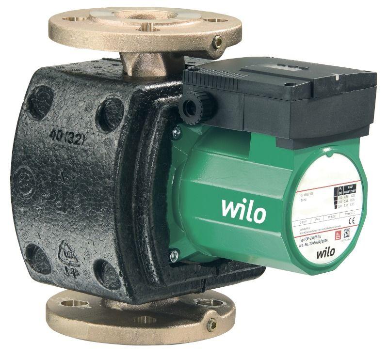 WILO TOP-Z 20/4 DM PN10 Menetes vagy karimás csatlakozású nedvestengelyű cirkulációs szivattyú / 2045520