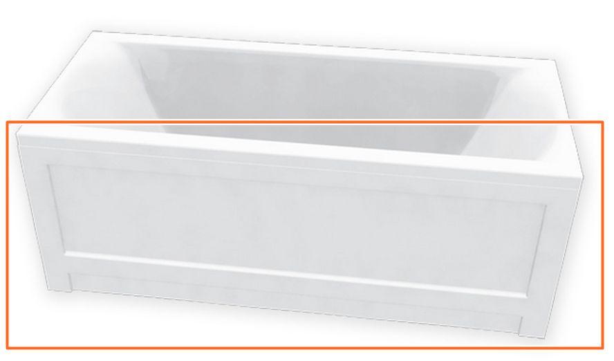 M-Acryl HELENA 190x90 cm egyenes akril kádhoz előlap
