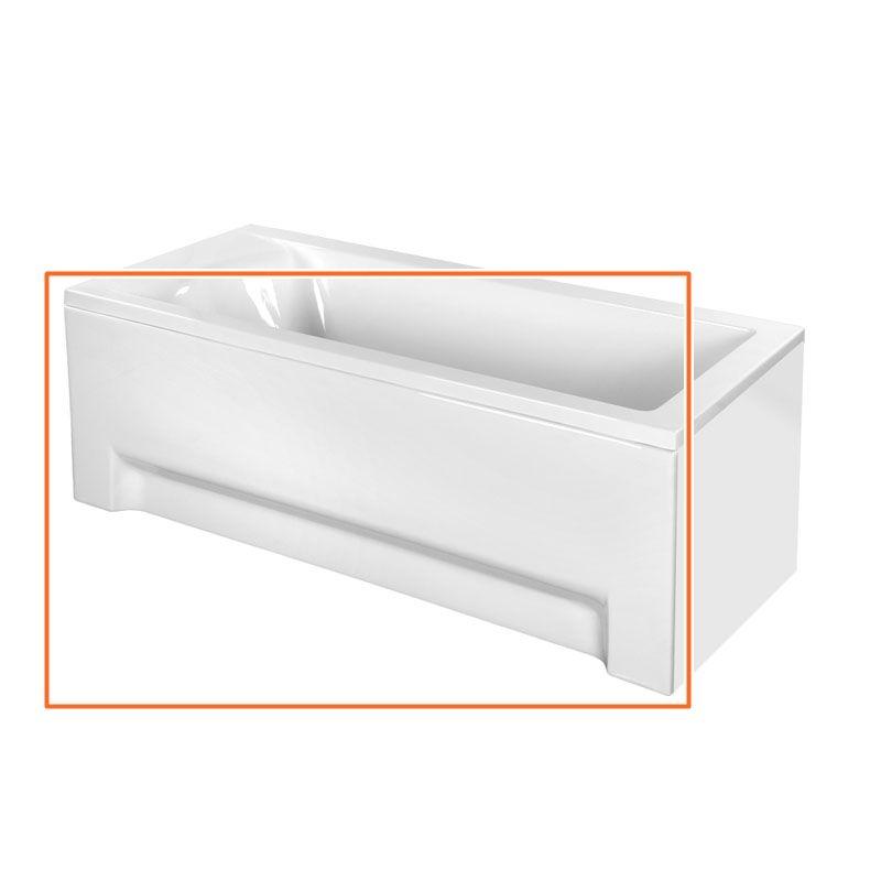 M-Acryl FRESH 160x70 cm egyenes akril kádhoz előlap