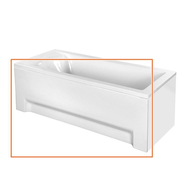 M-Acryl FRESH 170x70 cm egyenes akril kádhoz előlap