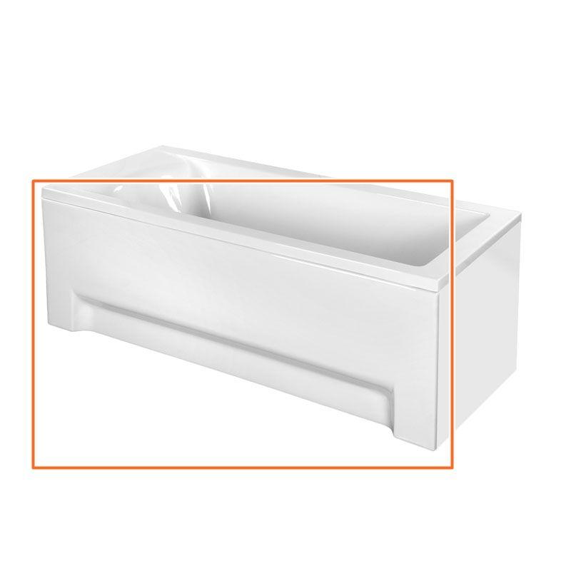 M-Acryl FRESH 170x75 cm egyenes akril kádhoz előlap