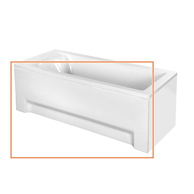 M-Acryl FRESH 180X80 cm egyenes akril kádhoz előlap
