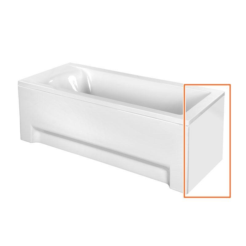 M-Acryl FRESH 160x70 cm egyenes akril kádhoz oldallap