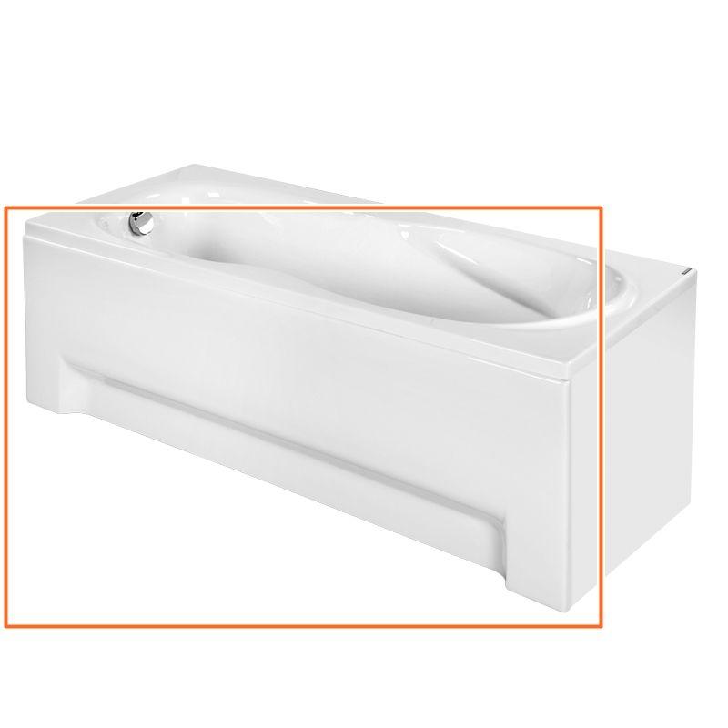 M-Acryl KLARA 160x70 cm egyenes akril kádhoz előlap