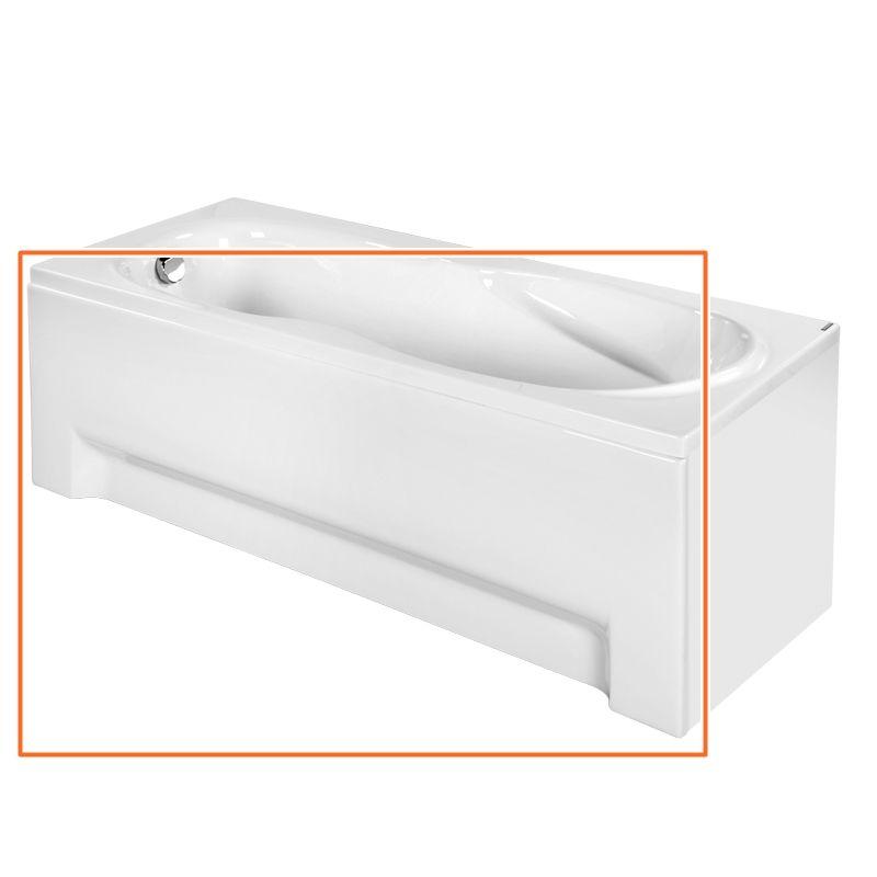 M-Acryl KLARA 180x80 cm egyenes akril kádhoz előlap